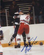 Toronto Maple Leafs Tiger Williams Signed Autographed 8x10 Photo COA