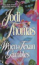When a Texan Gambles (The Wife Lottery)-ExLibrary