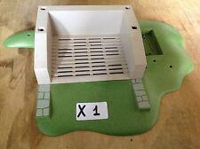 (X1) playmobil décor station de lavage chevaux poney ranch ref 4190
