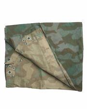 WW2 German Army Splinter Camouflage M34 Shelter Half - Beatiful New Reproduction
