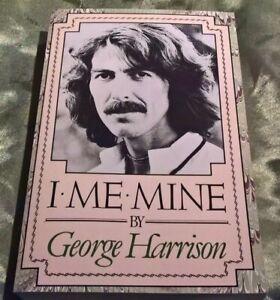 I ME MINE George Harrison COMET 1986 M-