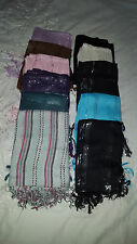 Large bundle of scarfs scarves hijabs x12