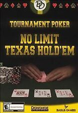 Windows XP - Tournament Poker: No Limit Texas Hold'em  - Free Shipping