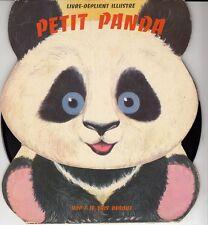 45 T  SP AVEC LIVRE DEPLIANT ILLUSTRE *PETIT PANDA*