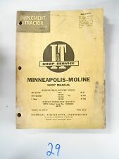 MINNEAPOLIS-MOLINE & MASSEY-FERGUSON I&T Shop Manual MM-15
