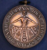 1950s Woman's Own Handicrafts medal 37mm *[17924]