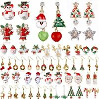 Fashion Christmas Earrings Women Drop Dangle Earrings New Year Jewelry Gift New