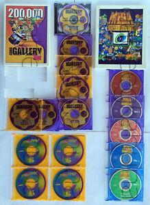 Corel Draw 6.0  200,000 Corel Gallery Magic  Corel Mega Gallery  17 CD's 2 Books