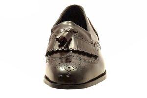 Florsheim Men's Lexington Slip-On Burgundy Tassel Loafers Shoes