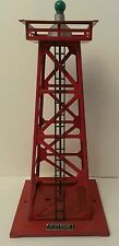 Lionel Rotary Beacon Lionel Corporation New York No. 394 Beacon Made in USA Red