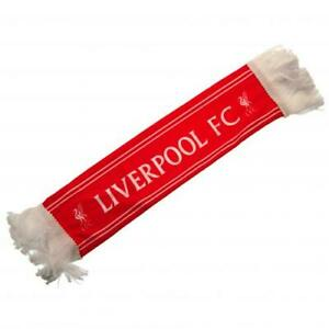 Liverpool FC Crested Mini Scarf Car Hang Up With Rubber Suction Pads
