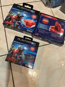Playmation Lot of 3 Marvel Avengers Repulsor Battery Recharge Pack-RED Disney