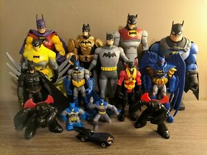 DC Comics BATMAN Action Figure Lot Of 15