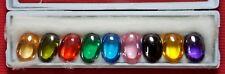 Powerful Nok Phra Gow 9 Colors Lucky Gems Naga Eye  Crystal Real Thai Amulet#A36