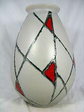 Beautiful 50´s design Schlossberg Keramik pottery  vase  105 / 30