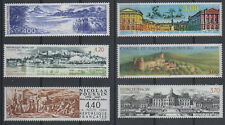 6 timbres** grand format 1989-1999 n°2586, 2601, 2817, 2896, 3073, 3245