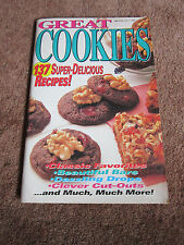Cookie Cookbook Magazine Recipes Kahlua Pumpkin Squares w/ Praline Topping MORE!