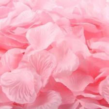 1000 pcs Pink Silk Rose Artificial Petals Wedding Party Flower Favors Decor New