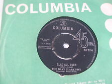 """THE DAVE CLARK FIVE - GLAD ALL OVER - COLUMBIA 7"""""""