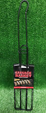 Sausage Grilling Basket - Barbecue Grill Cookout Accessories Hot Dogs Bratwurst