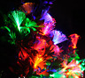 10M 100LED Fiber Optic Trumpet LED String Light Christmas tree Light Party Decor