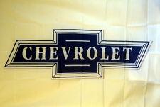 CHEVY CHEVROLET RACING BOW TIE LOGO EMBLEM BANNER FLAG 3' X 5' camaro c10 trucks