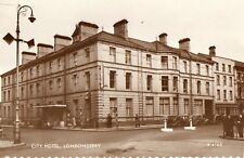 CITY HOTEL LONDONDERRY DERRY IRELAND RP POSTCARD by VALENTINES No. R4165