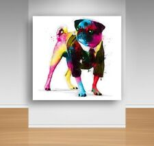 Canvas Wall Art - PuG DoG