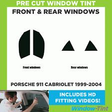 Pre Cut Window Tint - Porsche 911 Cabriolet 1999-2004 - Full Kit