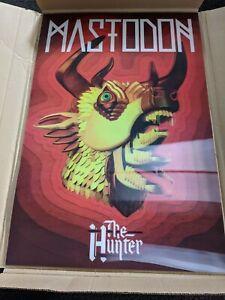 Mastodon Lenticular poster Hunter Album Cover Art