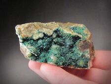 Spangolite and Brochantite, Mex-Tex Mine, New Mexico