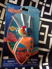 Disney/Pixar Finding Nemo Toy Car Alarm Key Set with Sounds Retired HTF 2008