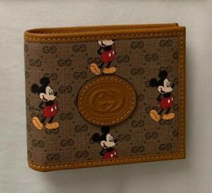 Gucci x Disney Card Bifold Wallet - No Box