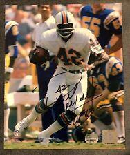 Paul Warfield 8x10 Pic Signed Mounted Memories Certified NFL HOF