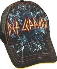 Def Leppard Shattered Glass Heavy Metal Rock Music Adjustable Cap Hat SDLD-99140
