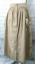 Ann Stevens NY Vintage Modest Button Front Skirt Size 11/12 Secretary