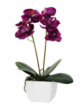 Orchid Faux Silk Houseplants Flowers