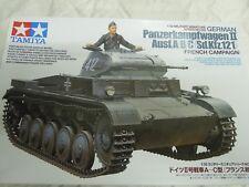 Tamiya 1/35 German Pz. Pour Kpfw. II Type A-C France Front Model Kit #35292