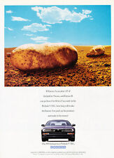 1996 Honda Prelude VTEC - Potato - Classic Vintage Advertisement Ad D156