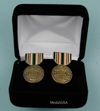 Southwest Asia Campaign Medal Cufflinks in Presentation Gift Box -Cufflinks