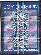 JOY DIVISION UNKNOWN PLEASURES BLUE TARTAN PATCH PUNK ROCK IAN CURTIS