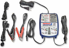 TecMate OptiMate 3 Battery Charger-Tester-Maintainer 12V, 2-Bank 7-Step TM451