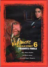 Nightmare on Elm Street 6 - Freddy's Dead , uncut , Region2 DVD ,new / sealed