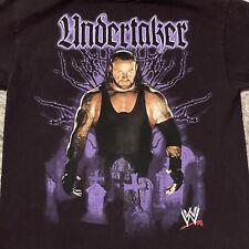 Medium - Vtg 2007 Wwe Undertaker Wrestling Cotton T-shirt