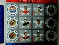 NHL CANADA POST 2001 ALL-STAR STAMP SOUVENIR SHEET
