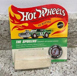 Hot Wheels Redlines Light My Firebird Empty Blister with button & sticker sheet