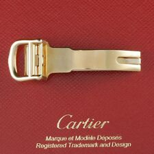 Cartier BDR PO 12mm ACIER #VA270027,12mm Yellow Gold Plated Watch Deploy Buckle
