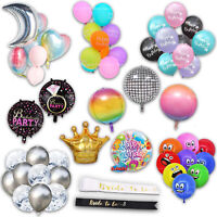 Party Decorations - Birthday Balloons, Engagement Balloons, Rainbow and Confetti