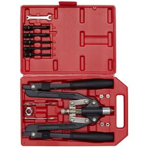 Sealey Tools Riverter RIVETER & Threaded Nut Riveter Blind Riveting Gun Kit