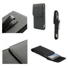 SALES for ALCATEL PIXI 4 (6) Case Metal Belt Clip  Synthetic Leather  Vertica...